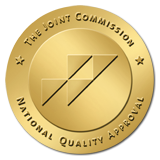 We're accredited by the Joint Commission on Accreditation of Healthcare Organizations