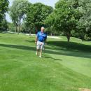 Chris Atsaves, Co-Chairman of the GARCC Golf Outing