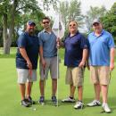 John and George Dernis and friends enjoy an afternoon of golf at the GARCC Golf Outing