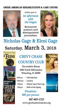GARCC presents An Afternoon with Nicholas Gage and daughter, Eleni Gage